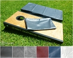 Premium Cornhole Board Covers - Set of 2 For Full Size 24x48 Boards - 6 Colors
