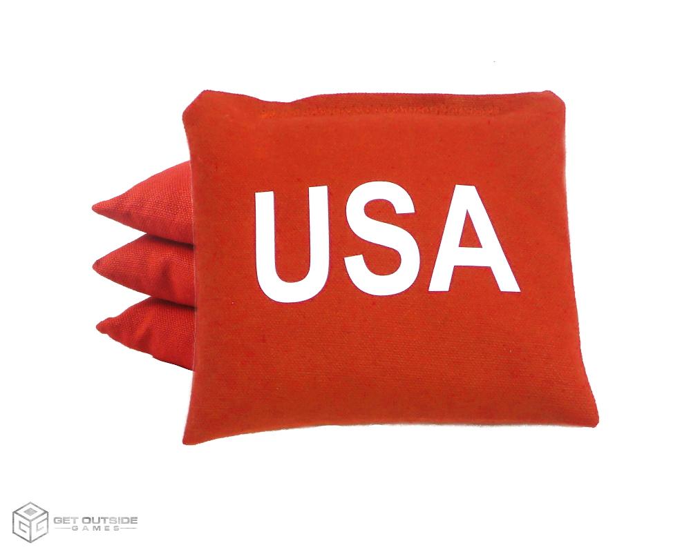 4 Usa Classic Series Cornhole Bags