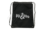 Mr & Mrs Premium Cornhole Bean Bag & Texas Toss™ Ball Tote