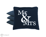 4 Mr & Mrs Classic Series Cornhole Bags