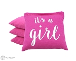 4 It's A Girl Classic Series Cornhole Bags