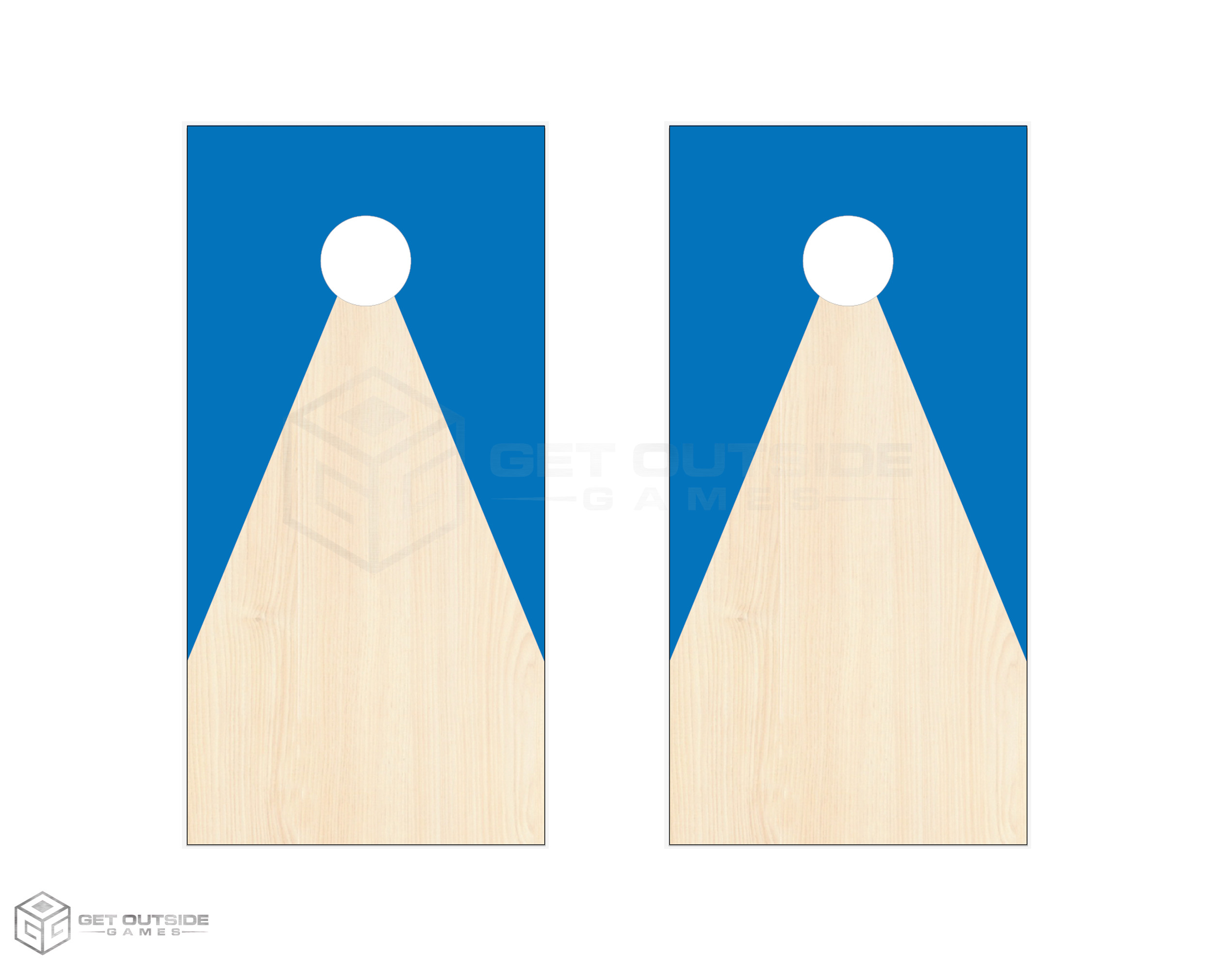Tri Path 1 Cornhole Boards