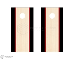 Dual Side Stripe Cornhole Boards