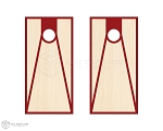 Tri Court Cornhole Boards