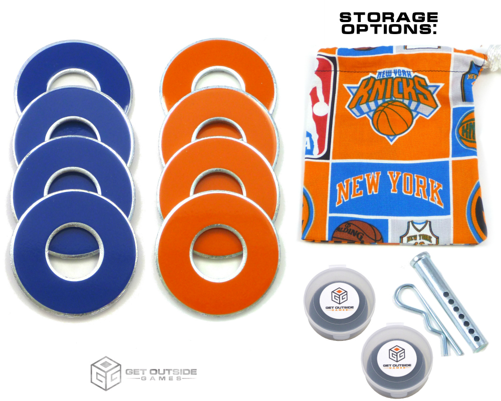 8 Knicks Color VVashers™ w/ Storage Options