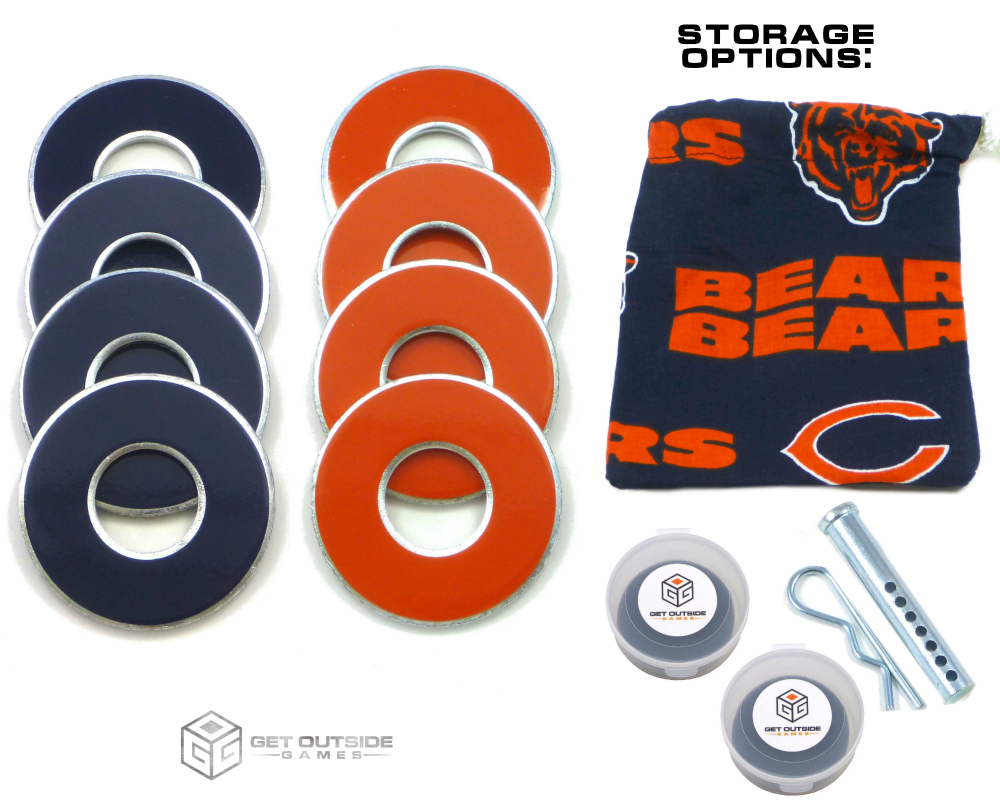 8 Bears Color VVashers™ w/ Storage Options