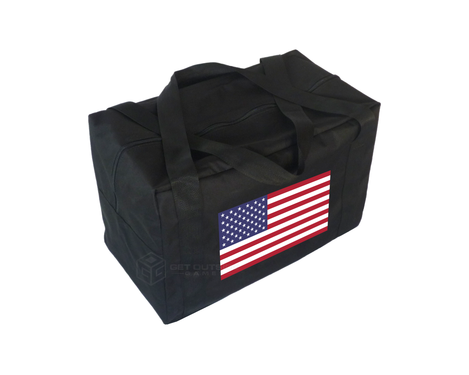 United States Flag Carry Case & Storage Bag for Giant Tumble Tower Block Games