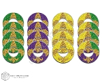 Mardi Gras VVashers™ - Set of 4