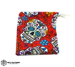 Sugar Skulls Fabric Washer Bag - Color Options