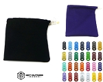 Build Your Own - 8 VVashers™ w/ Solid Color Fabric Bag