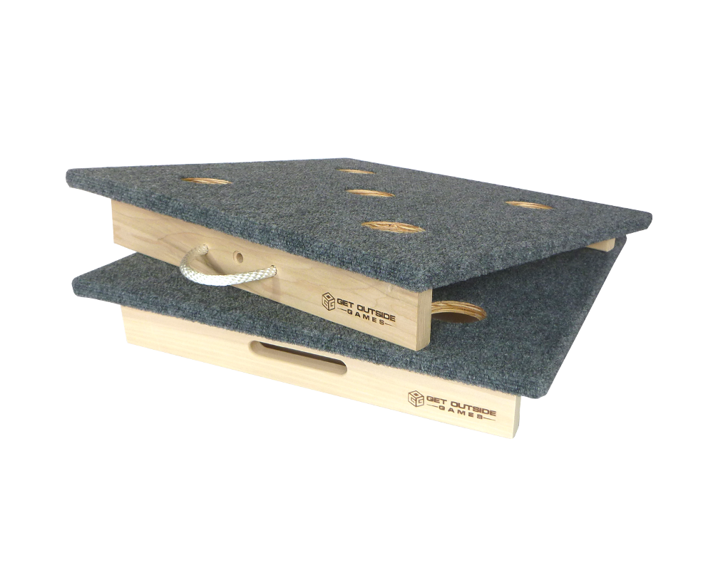 Classic 5 Hole Washer Toss Boards Sets