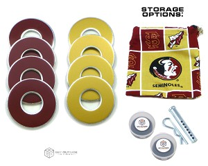8 Seminoles Color VVashers™ w/ Storage Options