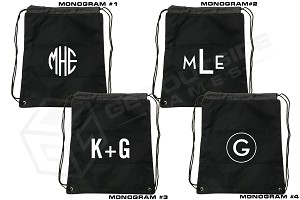 Monogram Premium Cornhole Bean Bag & Texas Toss™ Ball Tote