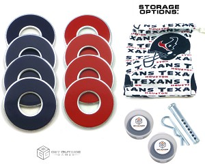 8 Texans Color VVashers™ w/ Storage Options