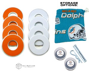 8 Dolphins Color VVashers™ w/ Storage Options
