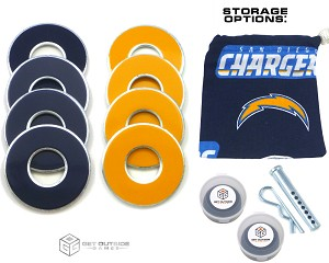 8 Chargers Color VVashers™ w/ Storage Options