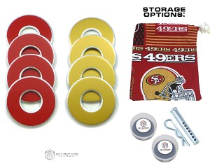 8 49ers Color VVashers™ w/ Storage Options