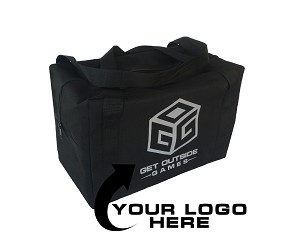 Custom Logo or Text Carry Case & Storage Bag for Giant Tumble Tower Block Games