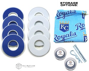8 Royals Color VVashers™ w/ Storage Options